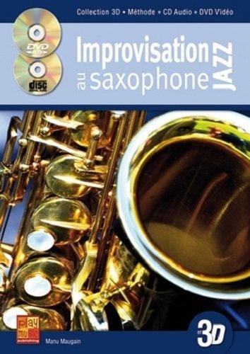 Improvisation au saxophone jazz en 3d