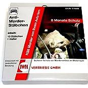 Anti Marder Stäbchen, 10 Stück mit Halter (078406), Autozubehör > Auto Pflege und Wartung > Fahrzeugschutz und Marderabwehr > Marderschutz