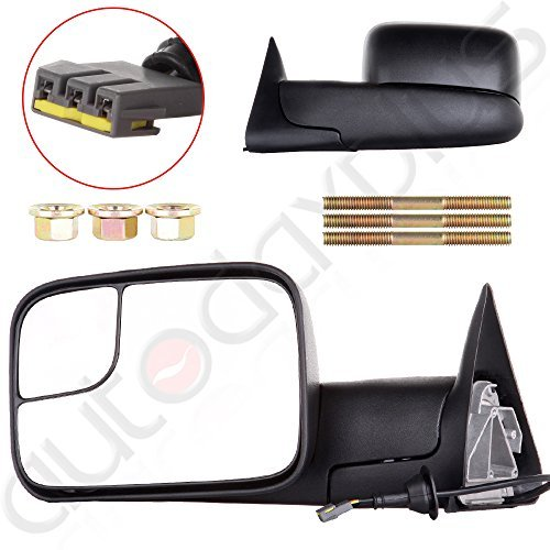 Autodayplus Power Towing Mirrors for 94-97 Dodge