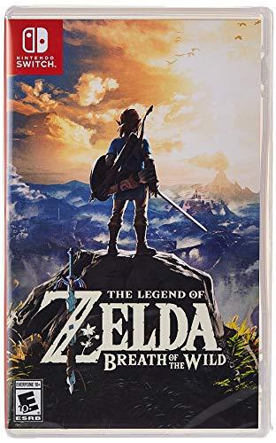 The Legend of Zelda: Breath of the Wild - Nintendo Switch - [Edizione: Regno Unito]