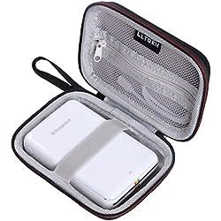 LTGEM EVA étui rigide pour imprimante mobile Polaroid ZIP - Convient au papier photo Polaroid Premium ZINK de 2 x 3 pouces