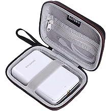 """LTGEM EVA Voyage Étui rigide Housse de protection Case pour Polaroid ZIP Mobile Printer - Imprimante équipée de la technologie d'impression sans encre ZINK - Noir, Mesh Pocket Fits Polaroid - Papier photo ZINK Premium 2""""x3"""""""