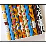 6 Rollen Geschenkpapier 200 x 70 cm
