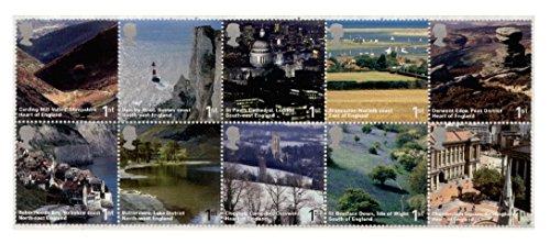 england-adesivi-per-auto-10-x-royal-mail-francobolli-di-prima-classe-britannici-di-iconic-posto-oppo