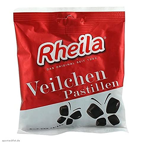 RHEILA Veilchen Pastillen mit Zucker 90 g