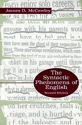 The Syntactic Phenomena of English