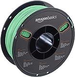 AmazonBasics - PLA 3D-Drucker Filament, 1,75 mm, durchscheinend Grün, 1 kg Spule