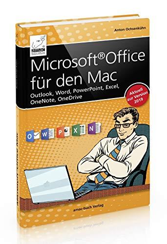 Microsoft Office für den Mac - Outlook, Word, PowerPoint, Excel, OneNote, OneDrive - für Office 2019