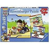 Ravensburger 093694 Puzzel Paw Patrol: 3X49 Stukjes, 60+ mnd