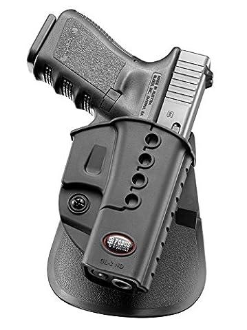 Fobus neu verdeckte Trage LINKE HAND einstellbar Pistolenhalfter Halfter Holster für Glock 19, 17, 22, 23, 31 ,32, 34, 35, 41 Pistole