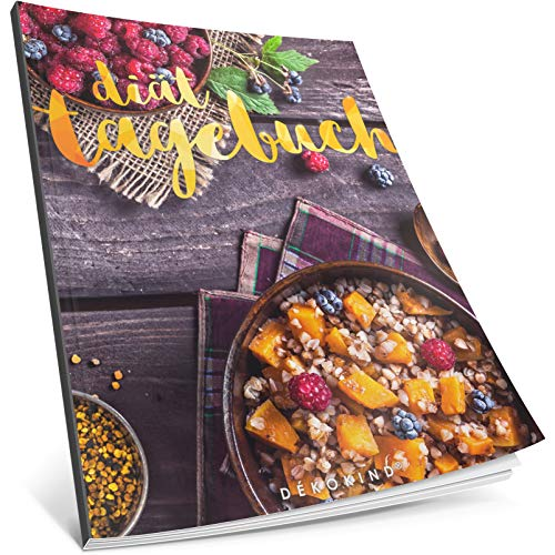 Dékokind® Diät-Tagebuch: Clevere 90 Tage Challenge zum Abnehmen || Das Abnehmtagebuch / Ernährungstagebuch zum Ausfüllen || C_13