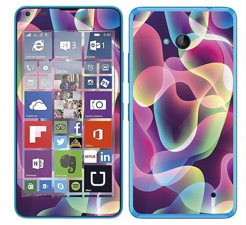 Royal Wandtattoo RS. 116275selbstklebend für Microsoft Lumia 640, Motiv Rauchmelder, Mehrfarbig