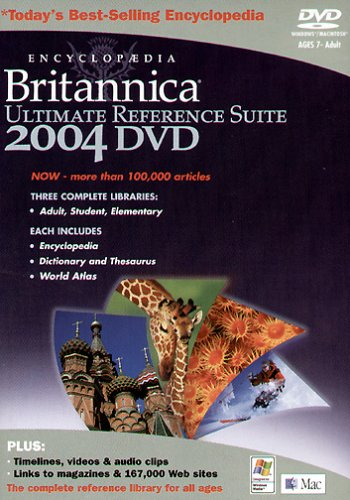 Encyclopaedia Britannica 2004 Reference (PC-DVD)