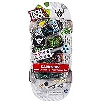Tech deck - Pack de 4 skates realistas (Bizak 61923610), surtido, 1 unidad de Bizak
