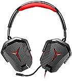 Lenovo gxd0l03746Y Gaming-Stereo-Headset, Schwarz/Rot
