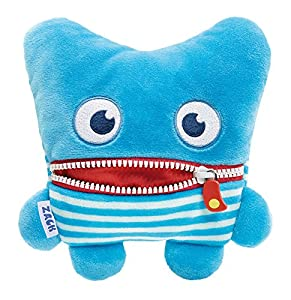 Schmidt Spiele Zack Monstruo Azul, Rojo - Juguetes de Peluche (Monstruo, Azul, Rojo, 64 g, 1 Pieza(s))