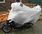 Rollerabdeckung Kunststoff, Roller Fahrrad Mofa Motorrad Schutz Regen Abdeckung (LHS)
