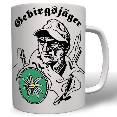 Narvik Ditel General Feldmarschall Alpen Edelweiß Einheit Gebirgsjäger Wh Norwegen Alpine Wk - Tasse Kaffee Becher #16759