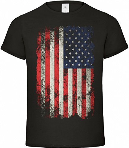 usa-t-shirt-flag-vintage-style-black-s-m-l-xl-xxl-farbeblackgres