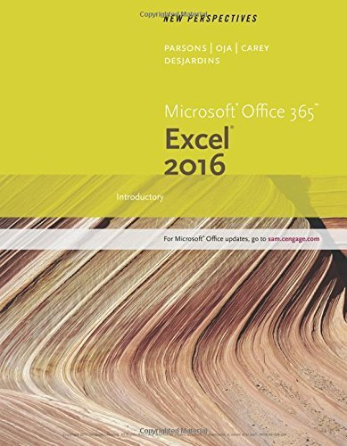 New Perspectives Microsoft Office 365 & Excel 2016: Introductory by Patrick Carey (2016-02-16)