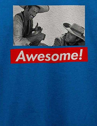 Awesome 82 T-Shirt Royal Blau