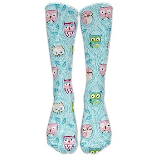 Bag shrots Owls In Trees Compression Socks For Men & Women - BEST For Running, Nurses, Shin Splints, Flight Travel, Skiing & Maternity Pregnancy - Boost Athletic Stamina & Recovery -