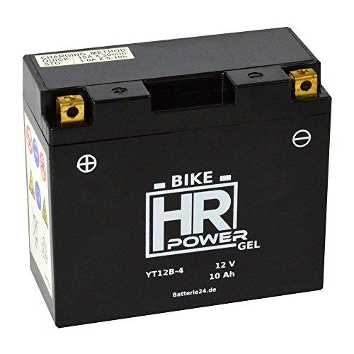 GEL Motorrad Batterie 12V 10Ah YT12B-4 wartungsfrei