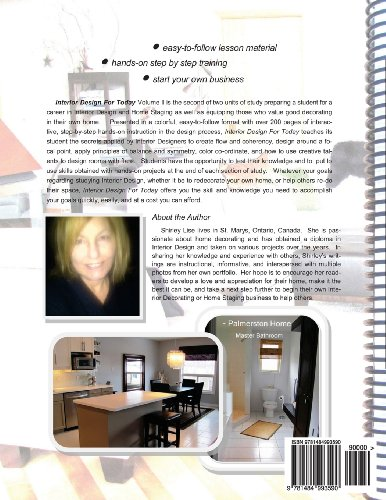 INTERIOR DESIGN FOR TODAY Volume ll: Home Decorating & Staging Course: Volume 2