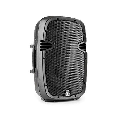Bafle de 10' PA en carcasa rigida de ABS incorporando tecnologia BT, reproductor de MP3, amplificador / mezclador de 400W