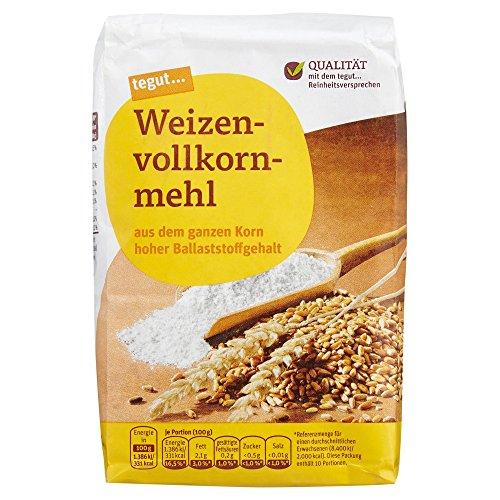 Tegut Weizen-Vollkornmehl, 1.00 kg
