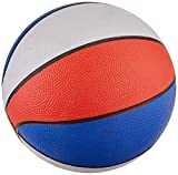 "Play Time 7"" Mini Red/White/Blue Basketball (1 Piece per Order)"