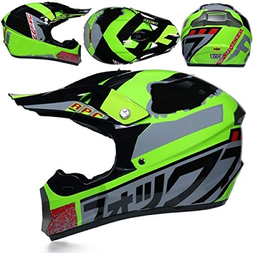 Magneto Kinder Kostüm - Professioneller Moped ATV-Helm Offroad-Helm Offroad-Motorrad-Offroad-Helm Mountainbike-Rennhelm Cross 13 XXL