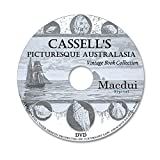 Cassell's picturesque Australasia - 4 Antique PDF e-Books Collection on 1 DATA DVD, Old books on disc
