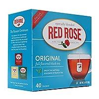 Red Rose Black Tea 40 ct - Enveloped - (Case of 6 boxes)