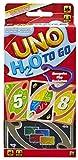 Mattel P1703 - UNO H2O To Go Kartenspiel mit Kunststoffkarten in einer wasserdichten Tasche