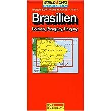 Carte routière : Brésil