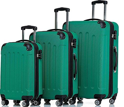 Shaik – Juego de maletas  verde verde