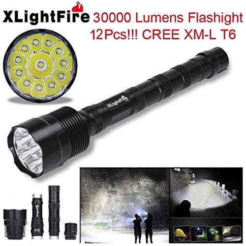 LinternaLinterna LED XLightFire 30000 lúmenes 12x