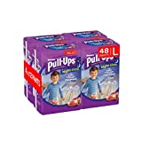 Huggies Pull-Ups Night Time Potty Training Pants for Boys, Large, 48 Pants