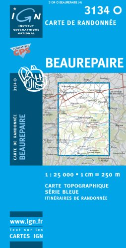 beaurepaire-ign3134o-ign-map