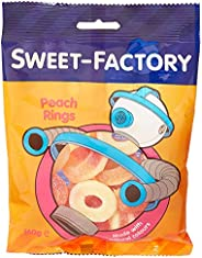 Sweet Factory Peach Rings Jelly Candies - 160 gm