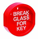 Firechief KB2lado plano romper vidrio caja para llaves