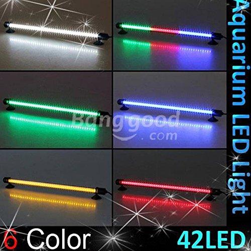 Bg Außenbereich Licht (PhilMat 42 LED 38cm Aquarium Bar wasserdichte Unterwasser Stick Streifen Licht Lampe)