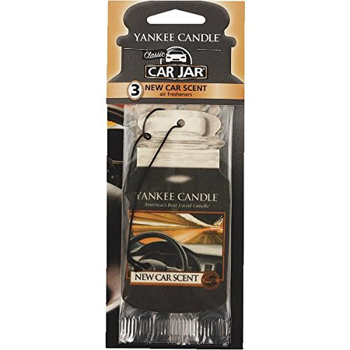 Preisvergleich Produktbild Yankee Candle New Car Scent Duftbaum Car Jar Bonus Pack