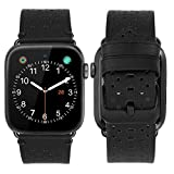 iBazal Kompatibel iWatch Series 4 Armband 40mm Leder, Kompatibel Apple Watch Armband 38mm Leder...