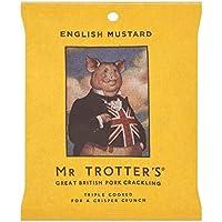 MR TROTTER Gran Chicharrón Británico Mr De Trotter - Inglés 60g De Mostaza (Paquete de 6)