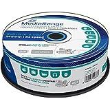 MediaRange MR474 - DVD+RW vírgenes de 8.5 GB (8x, 240 min, 25 unidades)