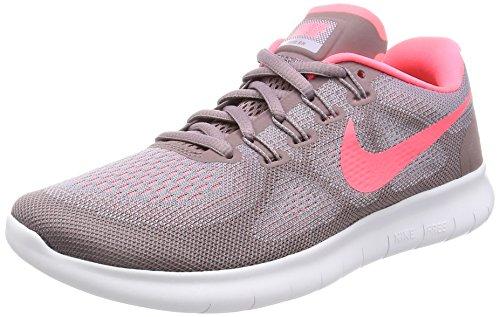 Nike Damen Free RN 2017 Laufschuhe, Violett Lila/Korall, 37.5 EU (Lila Frauen Nike Schuhe,)