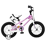 Royalbaby BMX Freestyle Kids Bike, Boy's Bikes and Girl's Bikes with training wheels