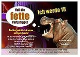 Unser-Festtag Einladungskarten zum Geburtstag Erwachsene, Mann Frau - für jedes Alter Wunschalter - 90 Karten - DIN A5